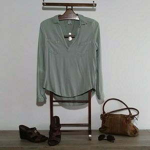 Tunic Soft Sage color